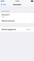 Apple iPhone 5s iOS 10 - E-mail - Account instellen (POP3 zonder SMTP-verificatie) - Stap 26