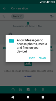 Sony Xperia XA1 Plus - Mms - Sending a picture message - Step 12