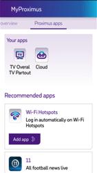 Apple iPhone 5s - iOS 8 - Applications - MyProximus - Step 21