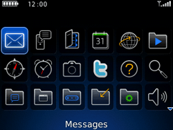 BlackBerry curve 3G - Contact, Appels, SMS/MMS - Envoyer un MMS - Étape 3