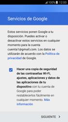 Samsung Galaxy J5 - E-mail - Configurar Gmail - Paso 14