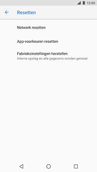 Nokia 6.1 - Toestel reset - terugzetten naar fabrieksinstellingen - Stap 6