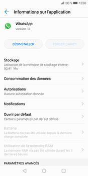 Huawei P Smart - Applications - Supprimer une application - Étape 7