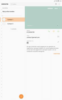 Samsung Galaxy Tab A 10.1 - Android Nougat - Contacten en data - Contacten overzetten via Bluetooth - Stap 4