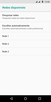 Motorola Moto G6 Play - Rede móvel - Como selecionar o tipo de rede adequada - Etapa 10
