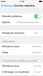 Apple iPhone 5c iOS 10 - Internet - Activer ou désactiver - Étape 4