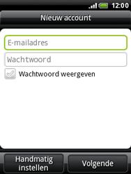 HTC A3333 Wildfire - E-mail - Handmatig instellen - Stap 7