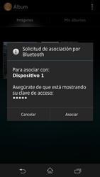 Sony Xperia Z - Bluetooth - Transferir archivos a través de Bluetooth - Paso 11