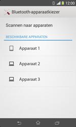 Sony Xperia E1 (D2005) - Contacten en data - Contacten overzetten via Bluetooth - Stap 11