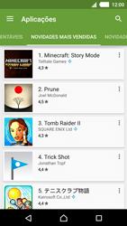 Sony Xperia M4 Aqua - Aplicações - Como pesquisar e instalar aplicações -  10