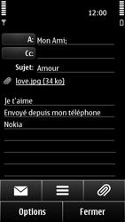 Nokia 500 - E-mail - envoyer un e-mail - Étape 11