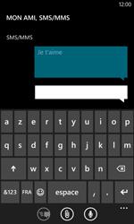 Nokia Lumia 520 - Contact, Appels, SMS/MMS - Envoyer un SMS - Étape 9