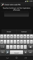 Sony Xpéria SP - Sécuriser votre mobile - Activer le code de verrouillage - Étape 8