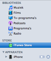 Apple iPhone 3G S - Applicaties - Account aanmaken - Stap 2