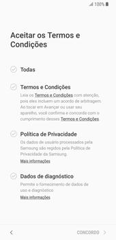 Samsung Galaxy S9 - Primeiros passos - Como ativar seu aparelho - Etapa 8