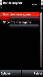 Nokia 5800 Xpress Music - SMS - configuration manuelle - Étape 8