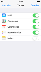 Apple iPhone 5s - iOS 11 - E-mail - Configurar Yahoo! - Paso 8