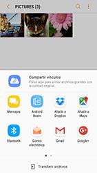 Samsung Galaxy S6 - Android Nougat - Bluetooth - Transferir archivos a través de Bluetooth - Paso 10