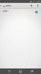 Sony Xperia Z3 4G (D6603) - Internet - Handmatig instellen - Stap 8