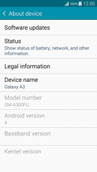 Samsung A300FU Galaxy A3 - Device - Software update - Step 6