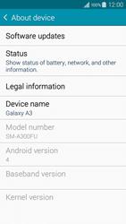 Samsung Galaxy A3 (2016) - Network - Installing software updates - Step 6
