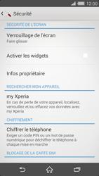 Sony Xperia Z2 - Sécuriser votre mobile - Activer le code de verrouillage - Étape 5