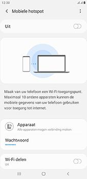 Samsung galaxy-j4-plus-dual-sim-sm-j415fn-android-pie - WiFi - Mobiele hotspot instellen - Stap 7