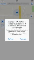 Apple iPhone 6 iOS 9 - WhatsApp - Partager des photos et votre emplacement avec WhatsApp - Étape 23