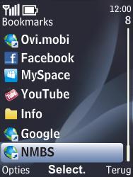 Nokia 6700 classic - Internet - internetten - Stap 11