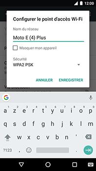 Motorola Moto E4 Plus - Internet et connexion - Partager votre connexion en Wi-Fi - Étape 7
