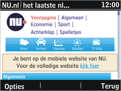Nokia Asha 302 - Internet - hoe te internetten - Stap 16