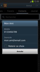Samsung Galaxy S3 4G - Contact, Appels, SMS/MMS - Envoyer un SMS - Étape 7