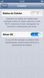 Apple iPhone iOS 6 - Internet (APN) - Como configurar a internet do seu aparelho (APN Nextel) - Etapa 5