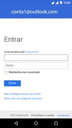 Motorola Moto E (2ª Geração) - Email - Como configurar seu celular para receber e enviar e-mails - Etapa 11