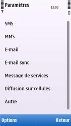 Nokia C5-03 - SMS - configuration manuelle - Étape 5