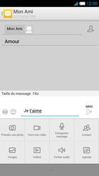 Bouygues Telecom Ultym 4 - Contact, Appels, SMS/MMS - Envoyer un MMS - Étape 13