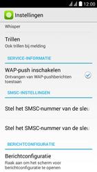 Huawei Y625 - SMS - handmatig instellen - Stap 5