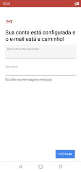 Motorola One - Email - Como configurar seu celular para receber e enviar e-mails - Etapa 11