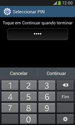 Samsung Galaxy Ace 3 LTE - Segurança - Como ativar o código de bloqueio do ecrã -  9