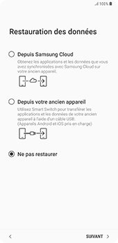 Samsung Galaxy Note 9 - Premiers pas - Configuration de l
