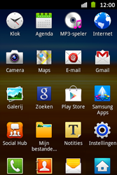 Samsung S6500D Galaxy Mini 2 - Internet - aan- of uitzetten - Stap 3