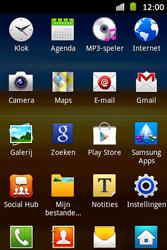 Samsung S6500D Galaxy Mini 2 - Internet - Aan- of uitzetten - Stap 3