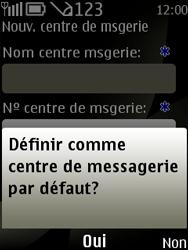 Nokia 6303 classic - SMS - configuration manuelle - Étape 9