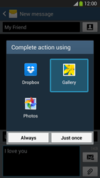 Samsung C105 Galaxy S IV Zoom LTE - MMS - Sending pictures - Step 15