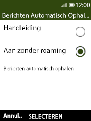 Nokia 8110 - MMS - probleem met ontvangen - Stap 7