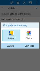 Samsung G530FZ Galaxy Grand Prime - E-mail - Sending emails - Step 13