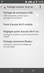 Sony Xpéria E1 Dual - Internet et connexion - Utiliser le mode modem par USB - Étape 7
