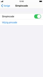 Apple iPhone SE - iOS 13 - Beveiliging - pas de pincode voor je simkaart aan - Stap 5