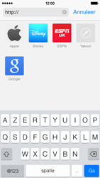 Apple iPhone 5c - Internet - Hoe te internetten - Stap 11