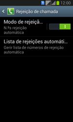 Samsung Galaxy Fresh Duos - Chamadas - Como bloquear chamadas de um número -  7